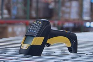 Barcodescanner auf Rollband