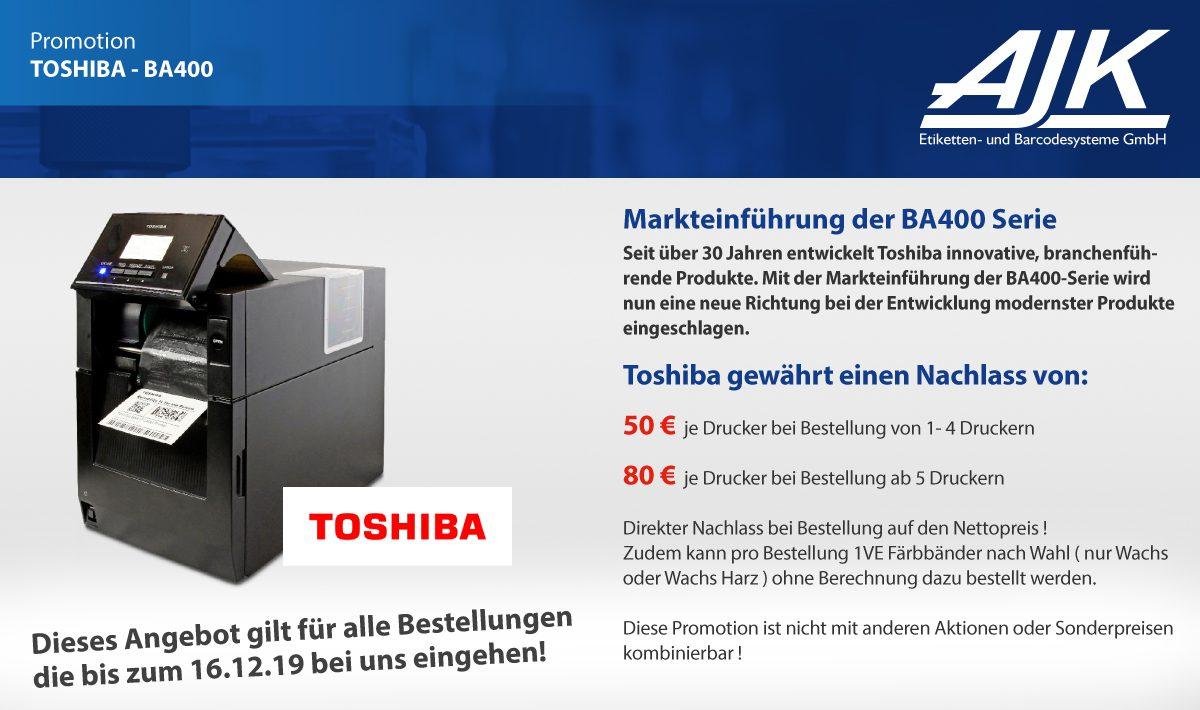 Toshiba BA400 Promotion